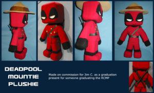 Deadpool Plushie