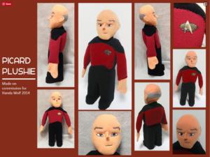 Picard Plushie