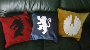 Elder Scrolls Online pillows