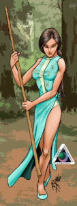 Indian girl warrior