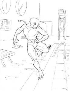 WIP – Otter lifeguard
