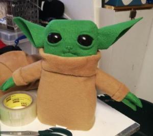 Baby Yoda – WIP