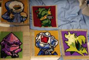 Nuclear Throne Blanket – progress
